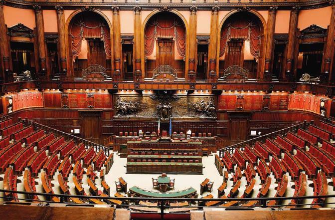La scheda i nuovi parlamentari sardi for Il parlamento italiano