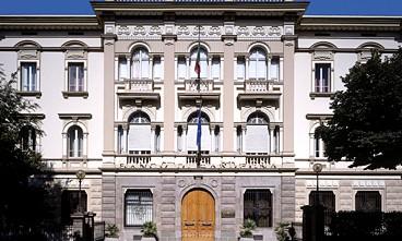 Sassari, la sede del Banco di Sardegna