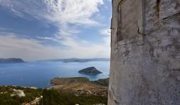 Vista dal semaforo verso Isola di Figarolo