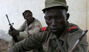 guerriglieri africani