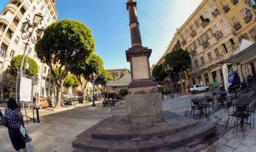 Cagliari - Piazza Yenne  Foto Roberto Pili