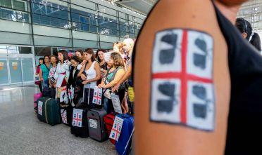 """Proteste scuola, docenti """"emigrati""""  Foto Roberto Pili"""