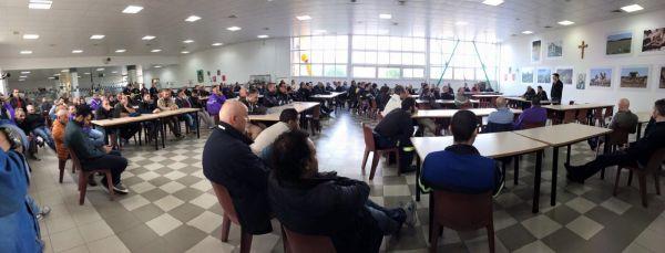 L'assemblea sindacale a Porto Torres
