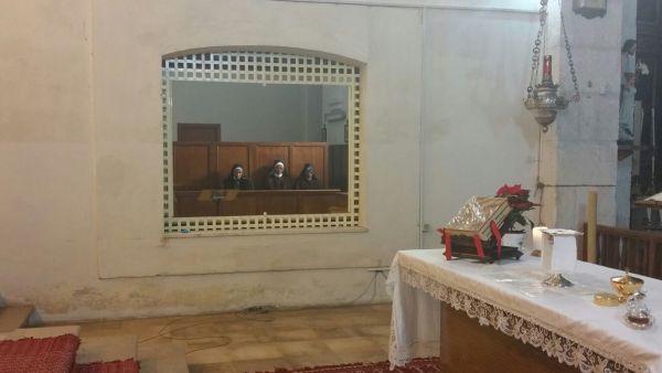 Sassari, monastero clausura