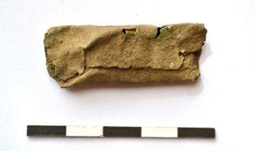 defixio in bronzo da Alghero