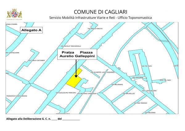 mappa piazza Galep