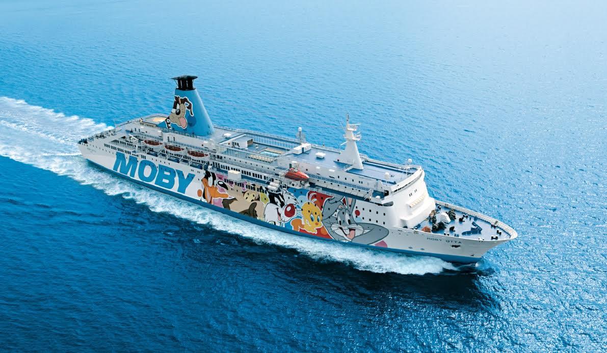 Moby si intensificano i collegamenti sardegna corsica al for Nave sardegna