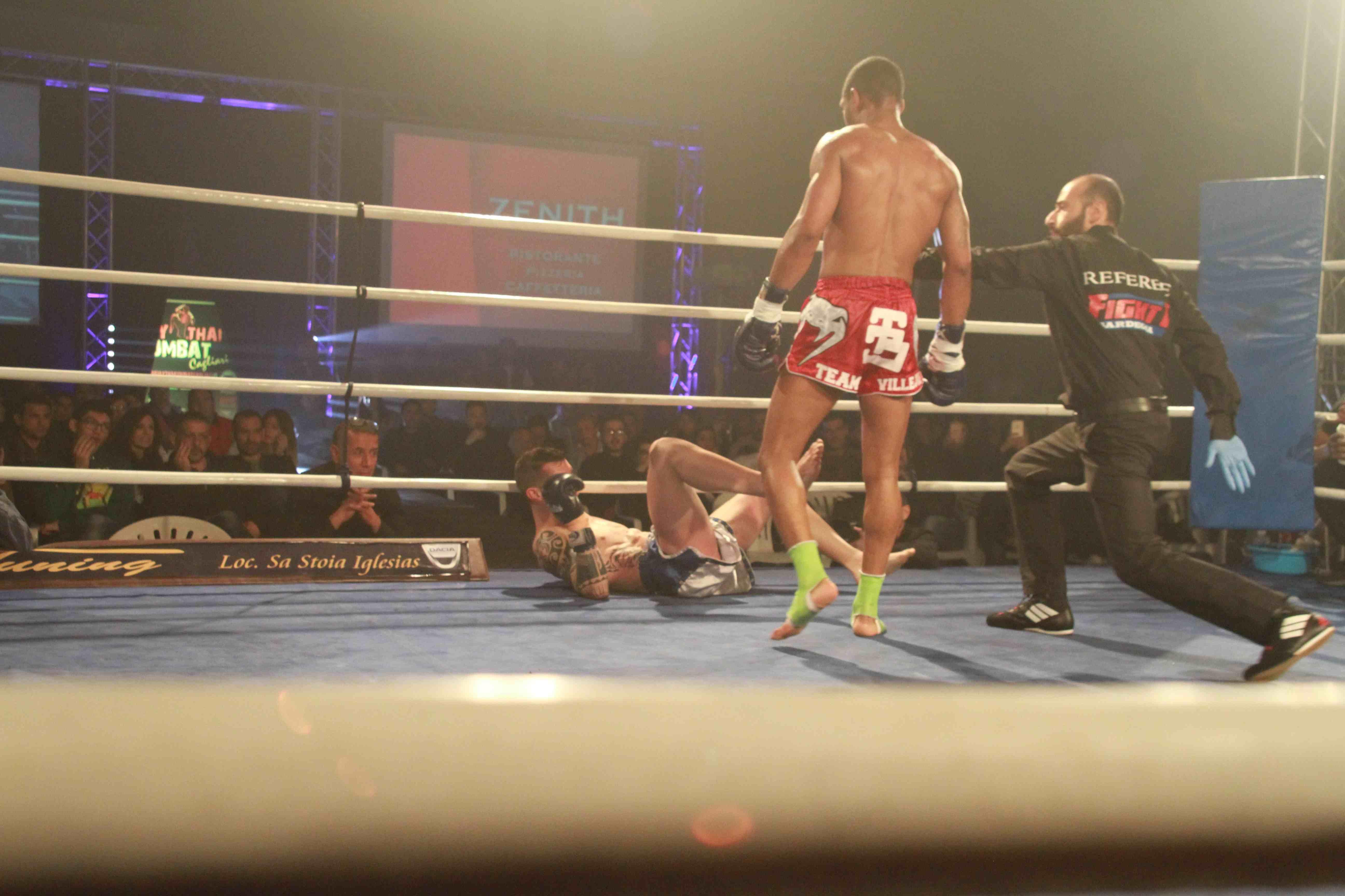 Iglesias campionato europeo wkn di boxe thailandese - Tappeto thailandese ...