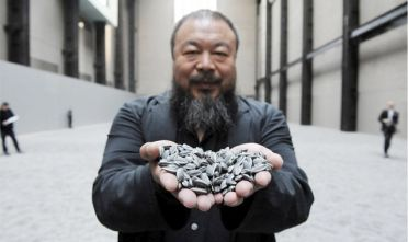 L'artista dissidente cinese Weiwei