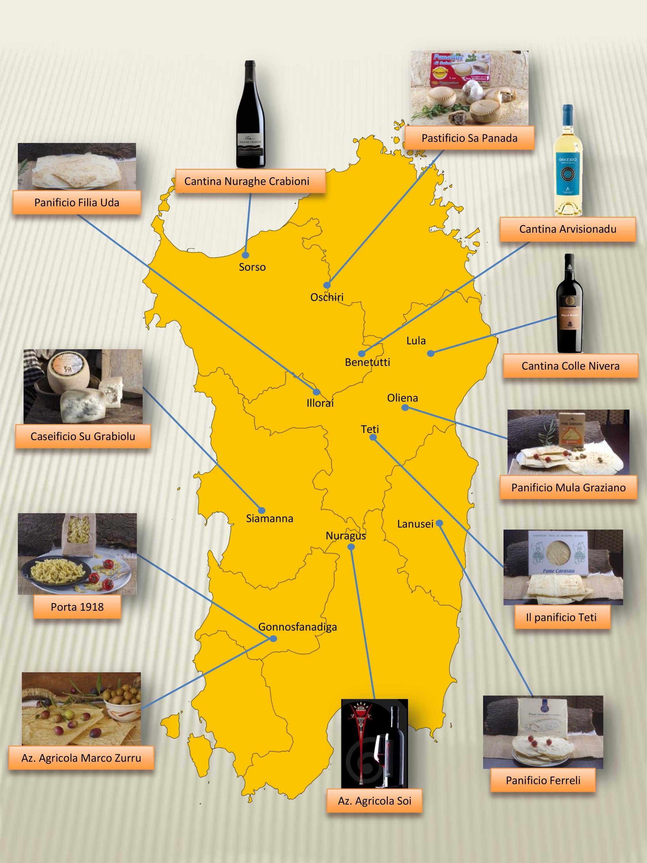 Cartina Sardegna Lula