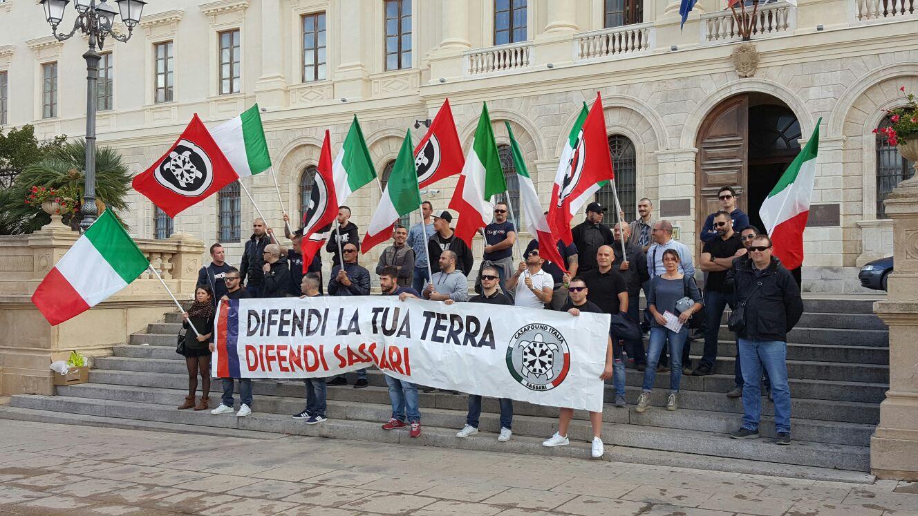 Antifascisti aggrediti a sassari denunciano stata for Idea casa immobiliare sassari
