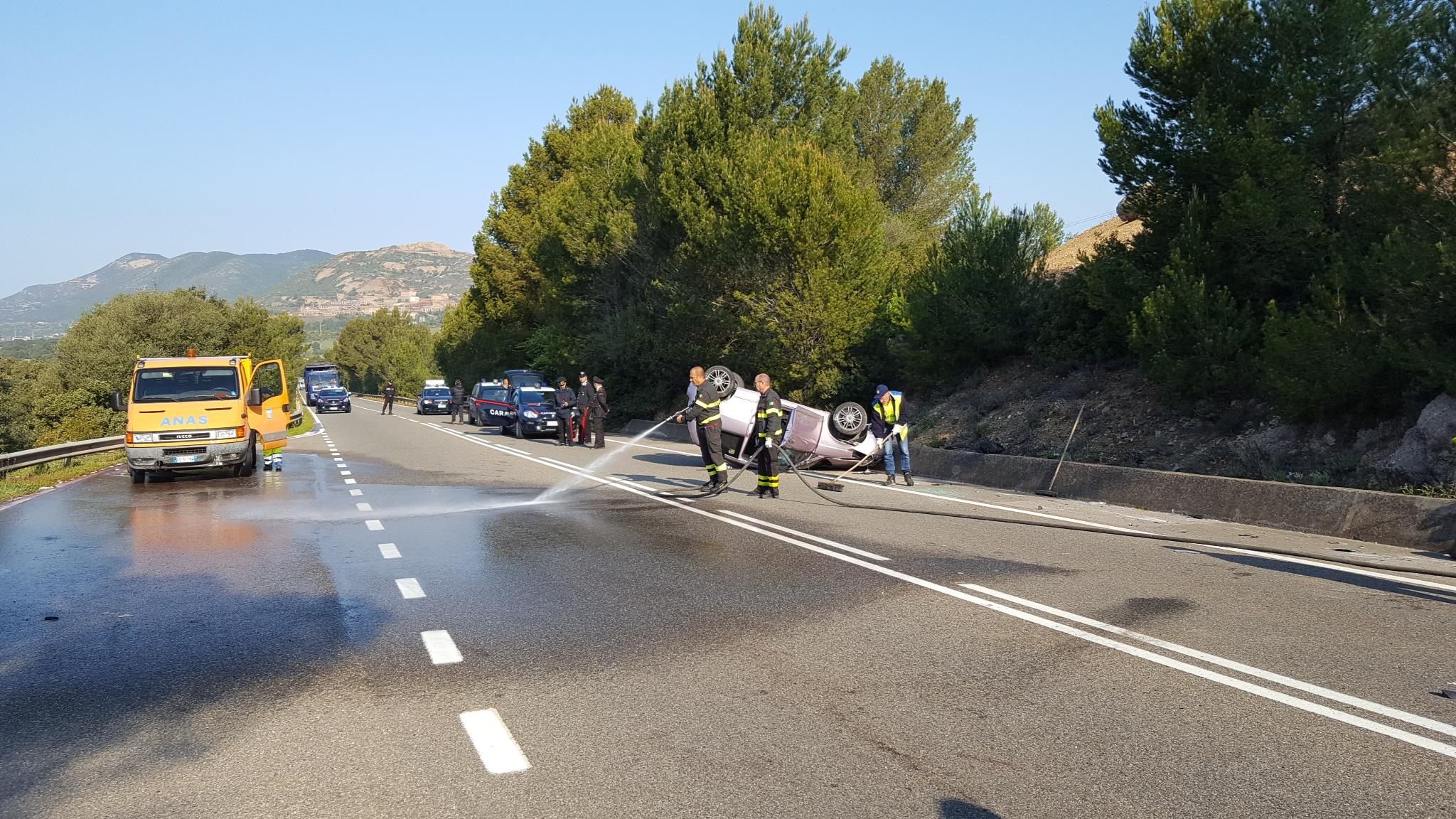 Iglesias si ribalta con l 39 auto mentre va al lavoro muore - La valigia sul letto iglesias ...