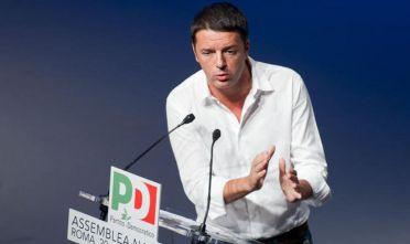 21/09/2013 Roma, assemblea nazionale del PD, seconda giornata. Nella foto Matteo Renzi