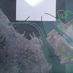 La mappa del corridoio ecologico tra Molentargius e Santa Gilla