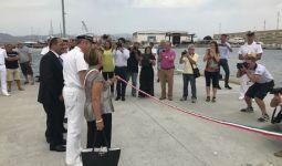 Cagliari porto, inaugurata nuova darsena