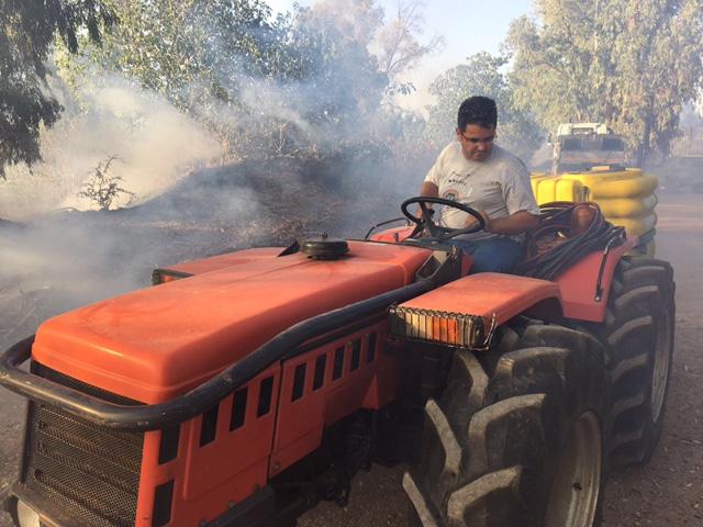 Cinque incendi ancora attivi in Sardegna
