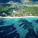 La spiaggia di Santa Margherita, Forte Village e Cala Verde
