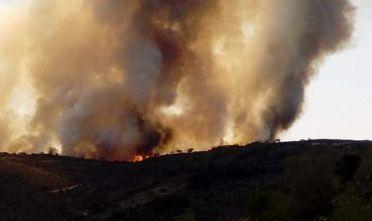 Incendio Villasalto