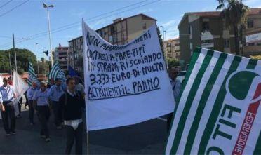 Cagliari corteo Ctm