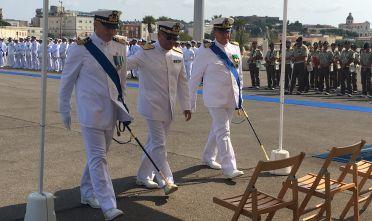 Cambio guardia costiera Cagliari