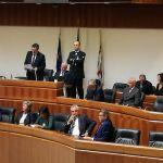 Franco Gabrielli in Consiglio regionale , il discorso di Gianfranco Ganau
