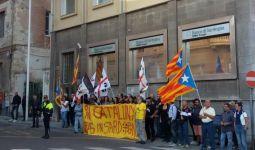 Cagliari, presidio pro Catalogna