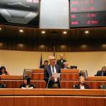 Franco Gabrielli in Consiglio regionale  il discorso di Francesco Pigliaru