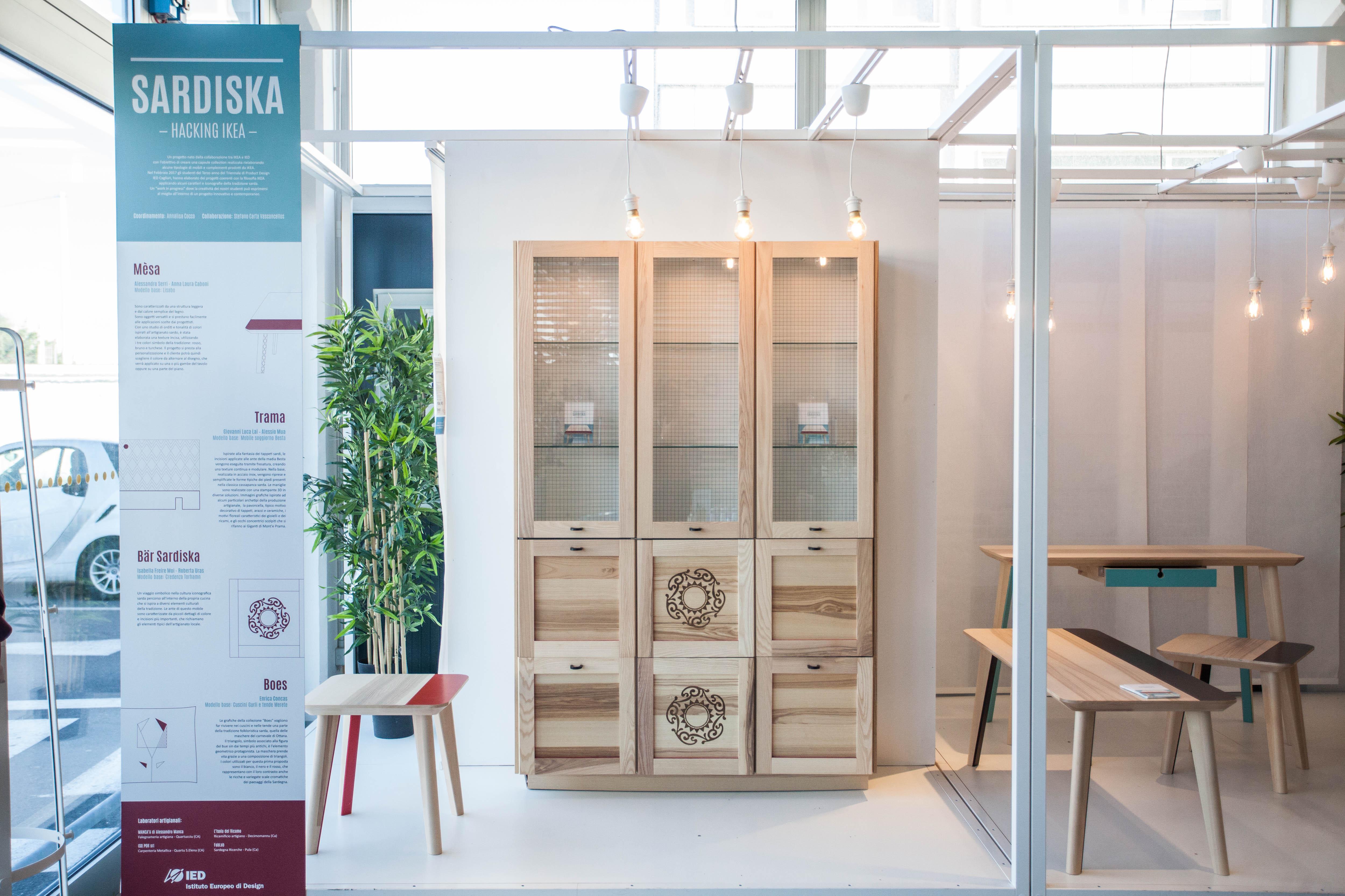 Mobili Credenza Ikea : Sardiska ecco i mobili ikea rivisitati in chiave sarda