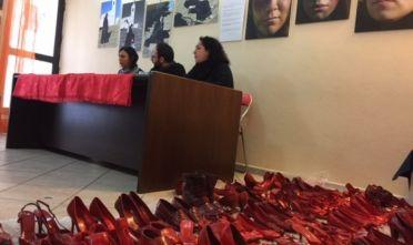 Zapatos rojos a Cagliari