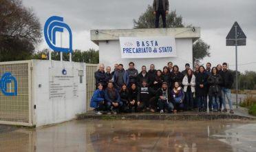Sassari, protesta precari Cnr