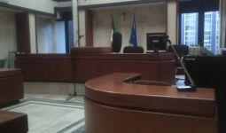 L'aula della Corte d'appello di Cagliari