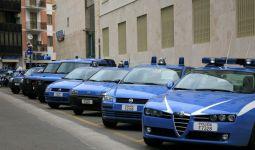 Cagliari questura auto polizia