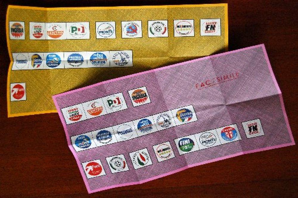 Guida al voto il tagliando antifrode sulle schede ecco for Numero deputati senatori