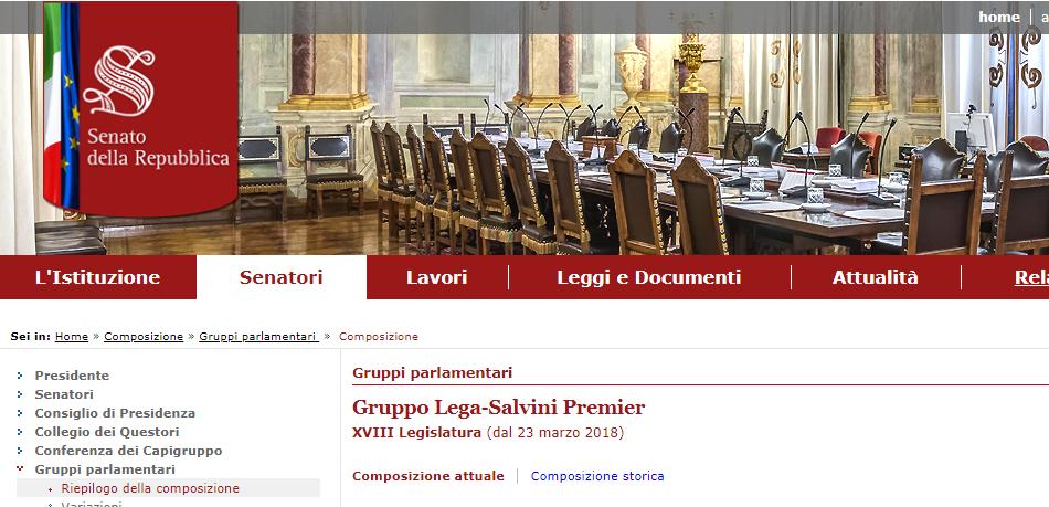 Solinas in senato siamo il gruppo lega psd 39 az ma dal for Sito senato