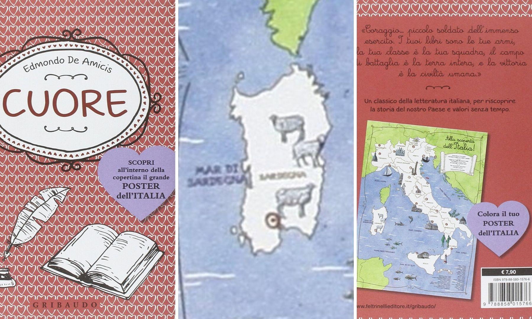 Cartina Sardegna Per Bambini.Tre Pecorelle Come Simbolo Dell Isola Polemiche Su Una Cartina Per I Bambini Sardiniapost It