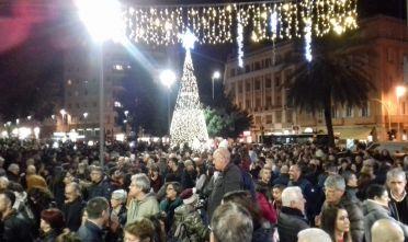 Anche a Cagliari Sardine+Costituzione per un futuro migliore