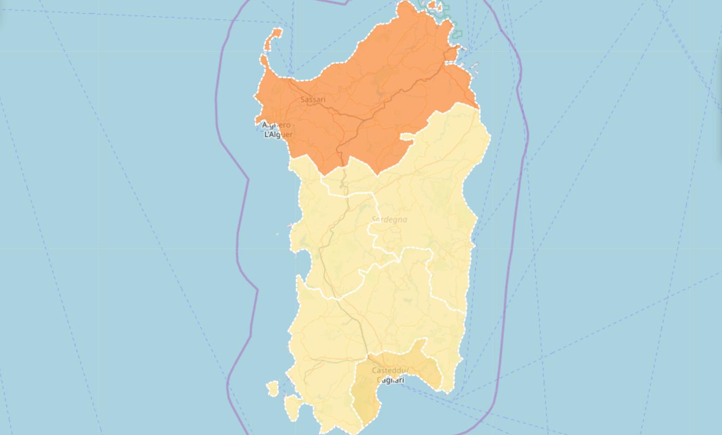 Cartina Politica Sardegna 2017.L Emergenza Coronavirus In Sardegna Mappa Dei Contagi I Dati Ufficiali Sardiniapost It